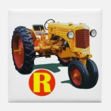 Tractor pulls Tile Coaster