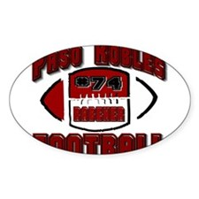 #74 rabener Oval Decal