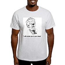 Clown Sleep Murder - Ash Grey T-Shirt