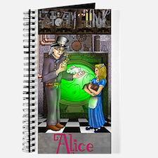 SteamPunk Alice Version 4 wit Journal