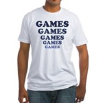 Games Fitted T-Shirt