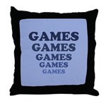 Games Throw Pillow