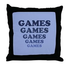 Games Throw Pillow