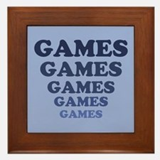 Games Framed Tile