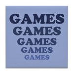 Games Tile Coaster