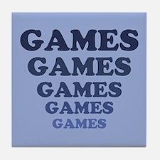 Games Tile Coaster