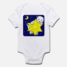 Westie Star Infant Bodysuit