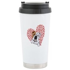 English Bulldog Lover Travel Mug