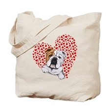 English Bulldog Lover Tote Bag