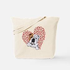 English Bulldog Lover Tote Bag