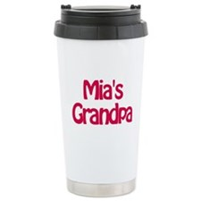 Mia's Grandpa Travel Mug