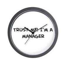 Trust Me: Manager Wall Clock