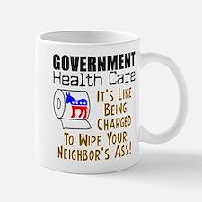 """""""Government Health Care"""" Mug"""