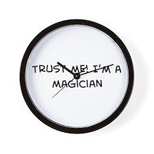 Trust Me: Magician Wall Clock