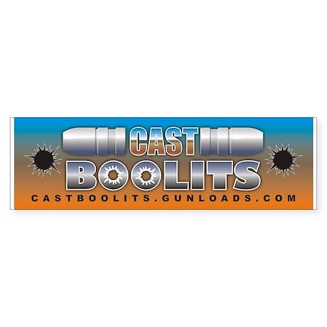 Cast Boolits Bumper Sticker