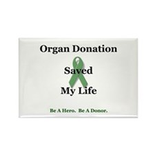 My Transplant Rectangle Magnet