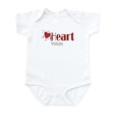 Heart Values Infant Creeper