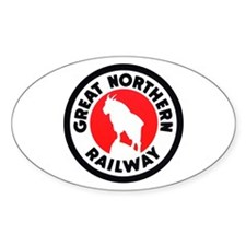 Great Northern Oval Decal