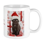 Kitten & Gifts Christmas Mug