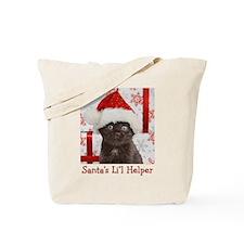 Kitten & Gifts Christmas Tote Bag