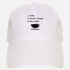Coffee List More Coffee Baseball Baseball Cap