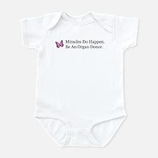 Organ Donation Awareness Infant Creeper