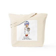 Nurse Stupidity Tote Bag