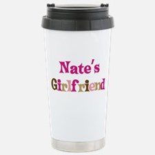 Nate's Girlfriend Stainless Steel Travel Mug