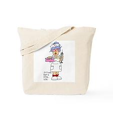 Nurse Hurt Tote Bag