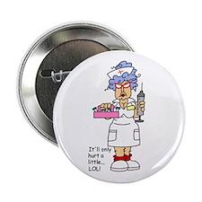 "Nurse Hurt 2.25"" Button (100 pack)"