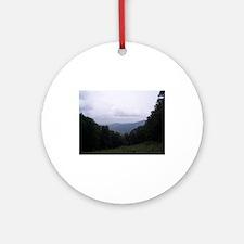 Blue Ridge Mountains Ornament (Round)