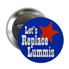 Let's Replace Lummis campaign button