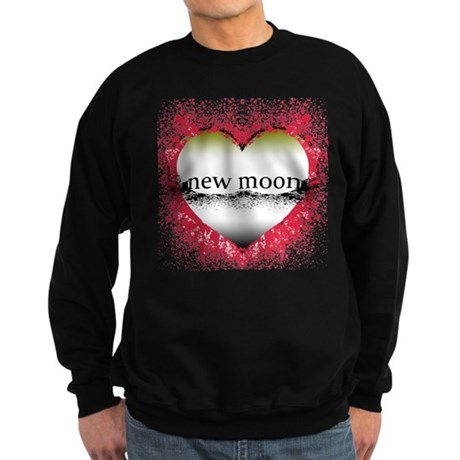 Shattered Heart New Moon Sweatshirt (dark)