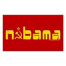 Comrade NOBAMA Rectangle Decal
