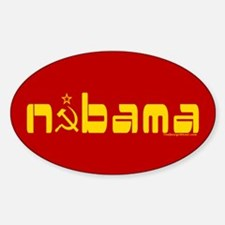 Comrade NOBAMA Oval Decal