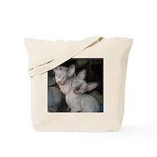 Cute Sphynx cat Tote Bag