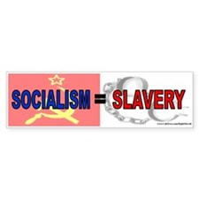 Socialism is slavery (sticker)