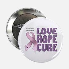 """Alzheimer's Awareness 2.25"""" Button (100 pack)"""