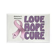 Alzheimer's Awareness Rectangle Magnet