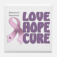 Alzheimer's Awareness Tile Coaster