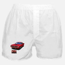Cute Muscle cars Boxer Shorts
