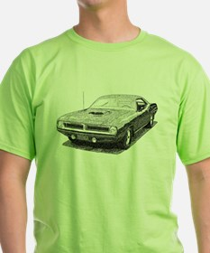 Cool Plymouth barracuda T-Shirt