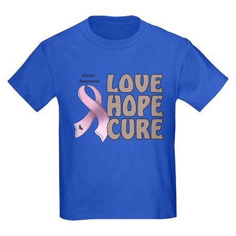 Cancer Awareness Kids Dark T-Shirt
