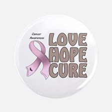 "Cancer Awareness 3.5"" Button"