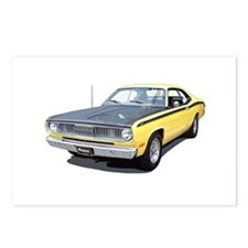 Cute Plymouth duster Postcards (Package of 8)