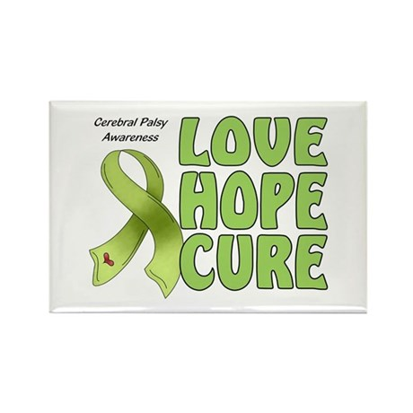 Cerebral Palsy Awareness Rectangle Magnet (100 pac