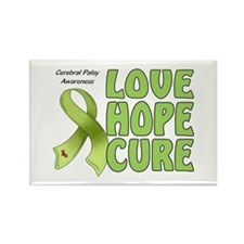 Cerebral Palsy Awareness Rectangle Magnet