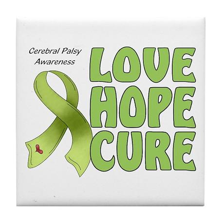 Cerebral Palsy Awareness Tile Coaster