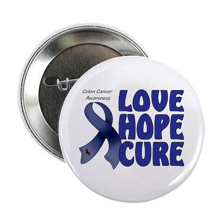 "Colon Cancer 2.25"" Button (10 pack)"