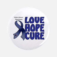 "Colon Cancer 3.5"" Button"